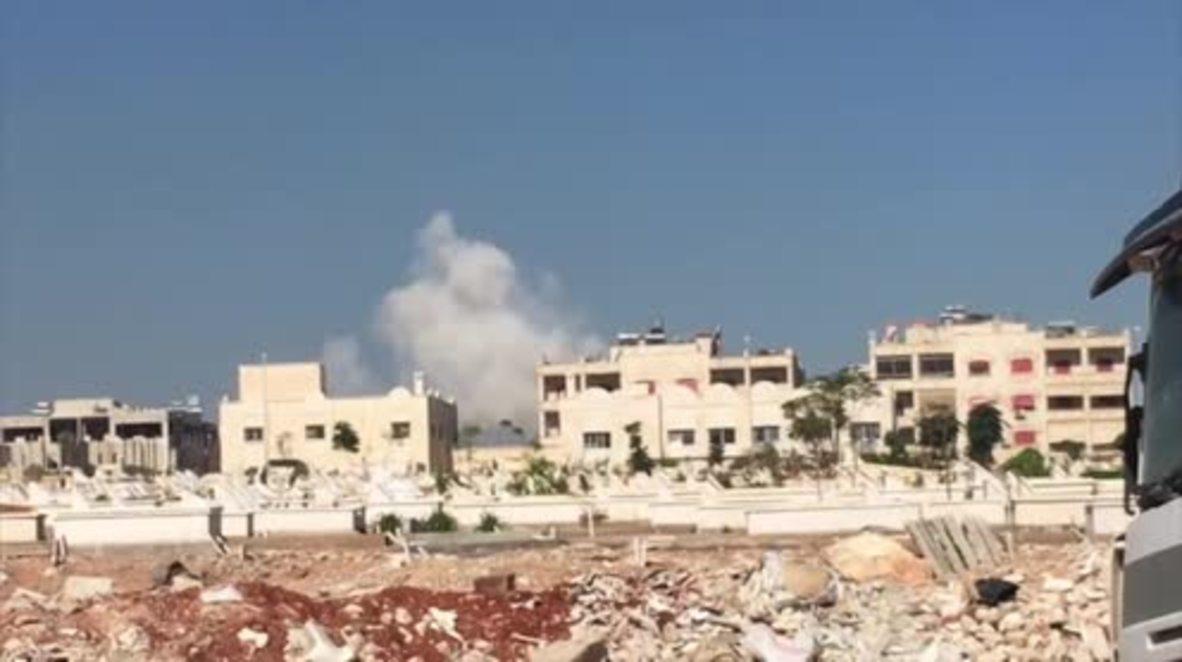 Syria: Rebels continue attack on Aleppo District, al-Assad Academy *GRAPHIC*