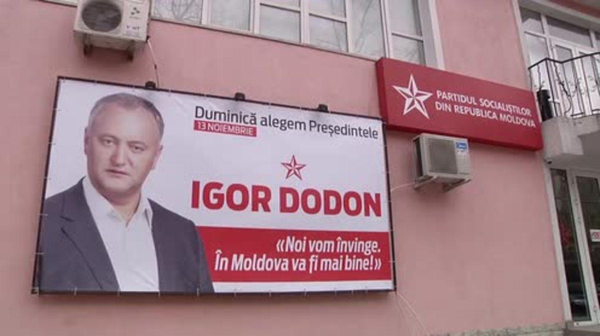 Moldova: Socialist Igor Dodon calls the win in presidential election