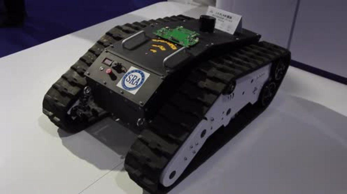 China: Mosquito KILLER robot debuts at the China Hi-Tech Fair in Shenzhen