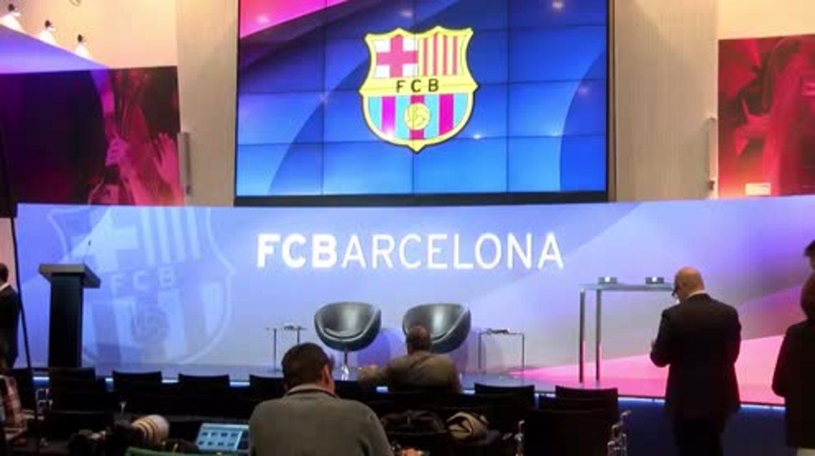 Spain: FC Barcelona President announces €220m deal with new sponsor Rakuten