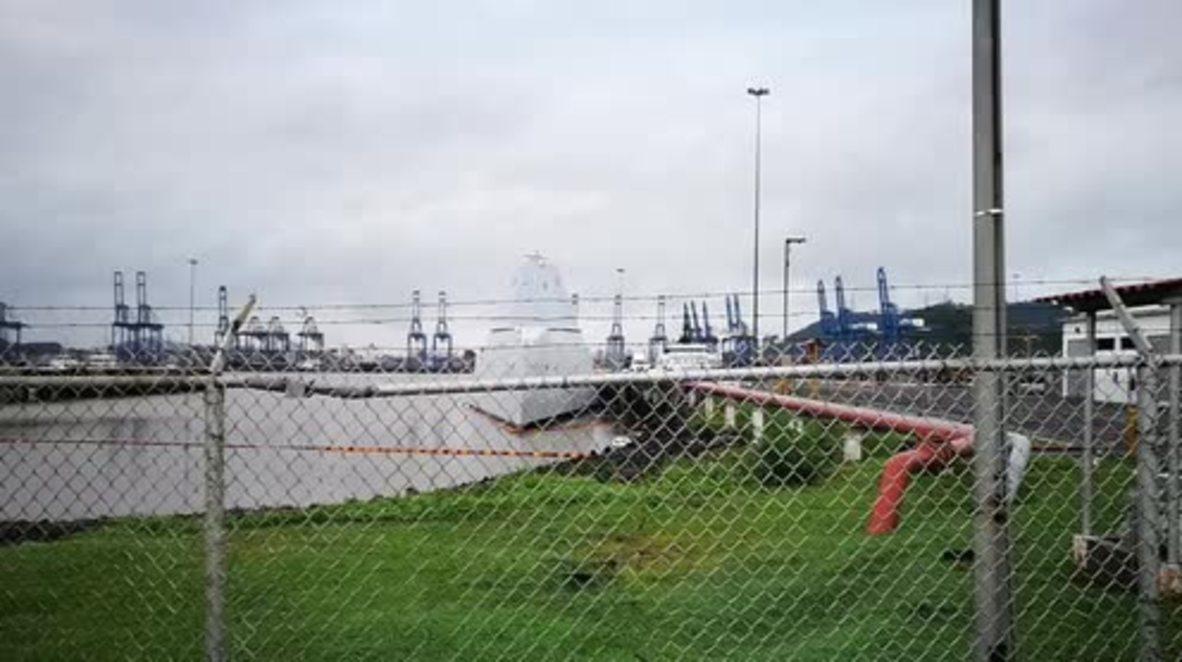 Panama: $4 billion USS Zumwalt destroyer breaks down - again