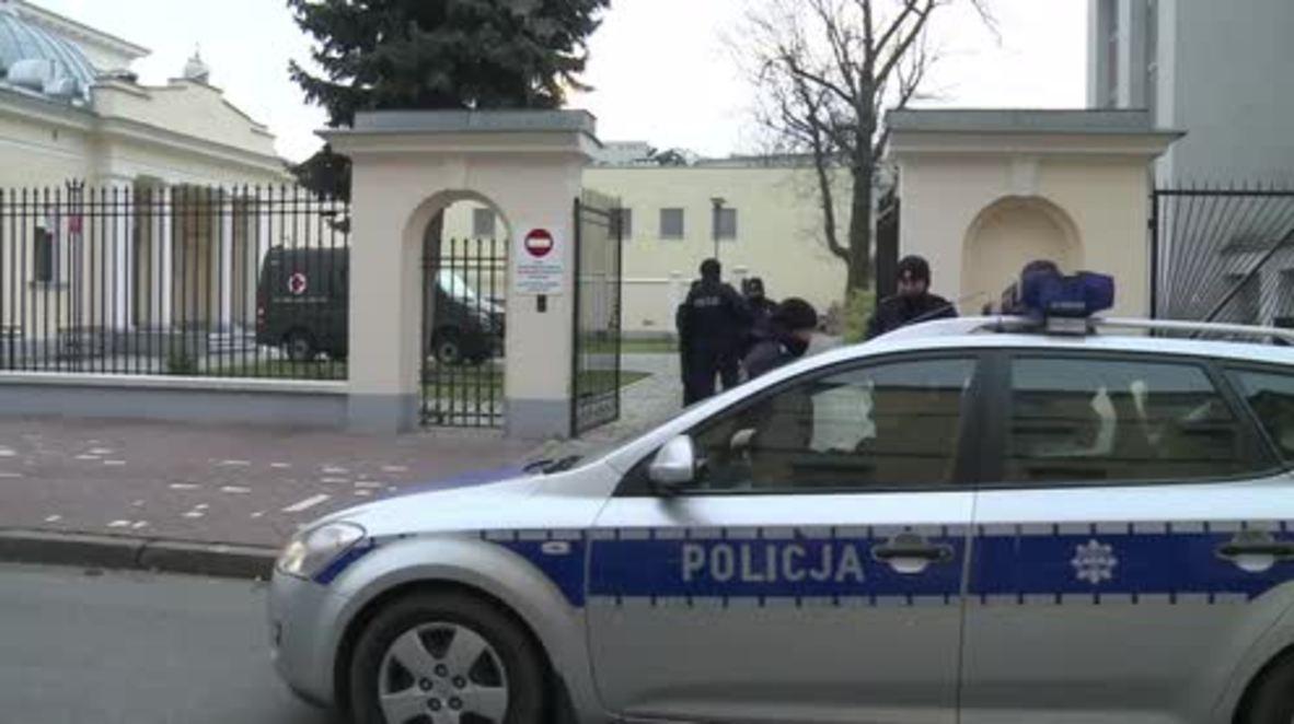 Poland: Body of Smolensk plane crash victim exhumed for examination