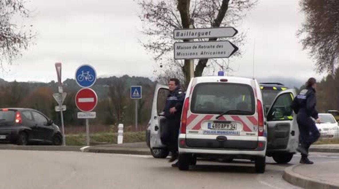 France: Massive manhunt follows fatal stabbing in retirement home near Montpellier