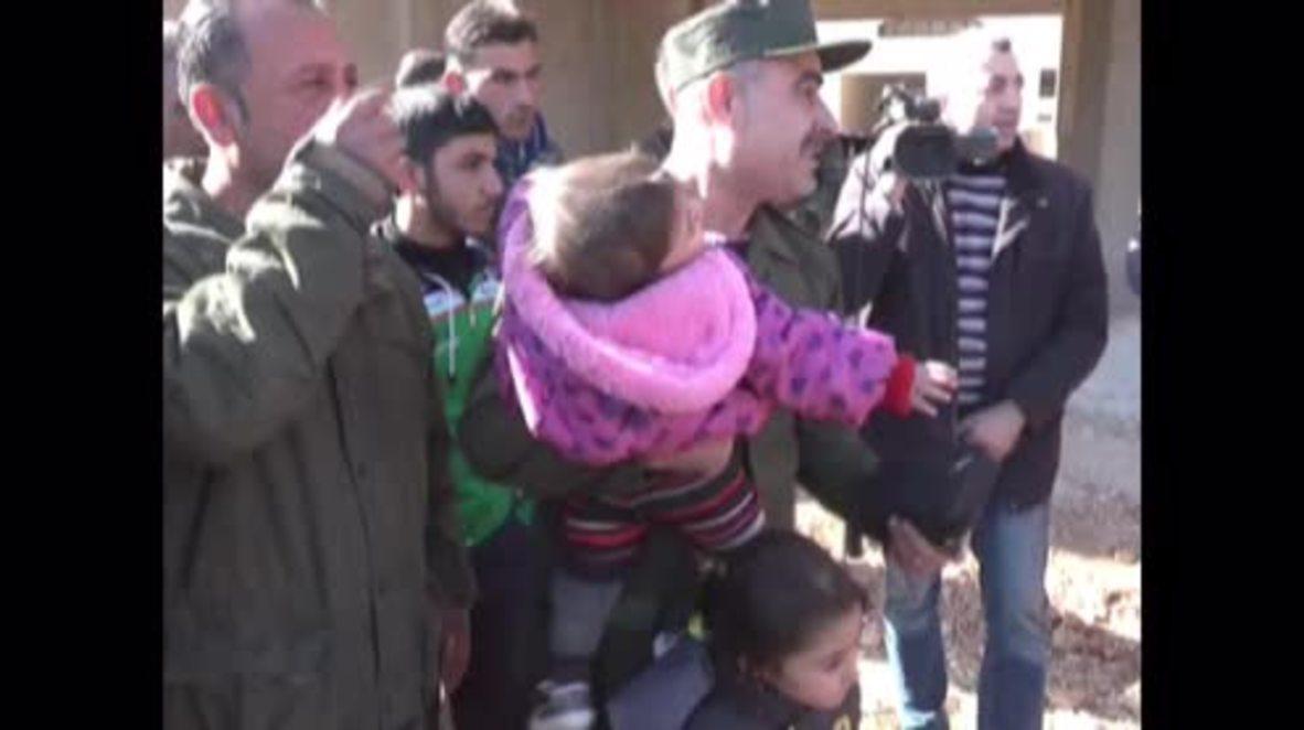 Syria: Around 600 civilians escape rebel-held districts of east Aleppo