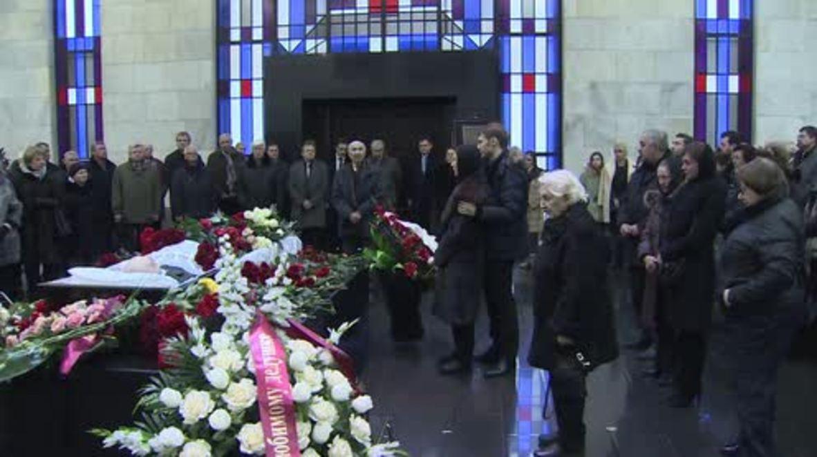 Russia: Memorial held for pioneer of Soviet-era jet aviation Mikoyan