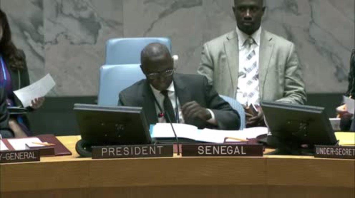 """UN: Security Council impose """"toughest"""" sanctions ever on North Korea"""