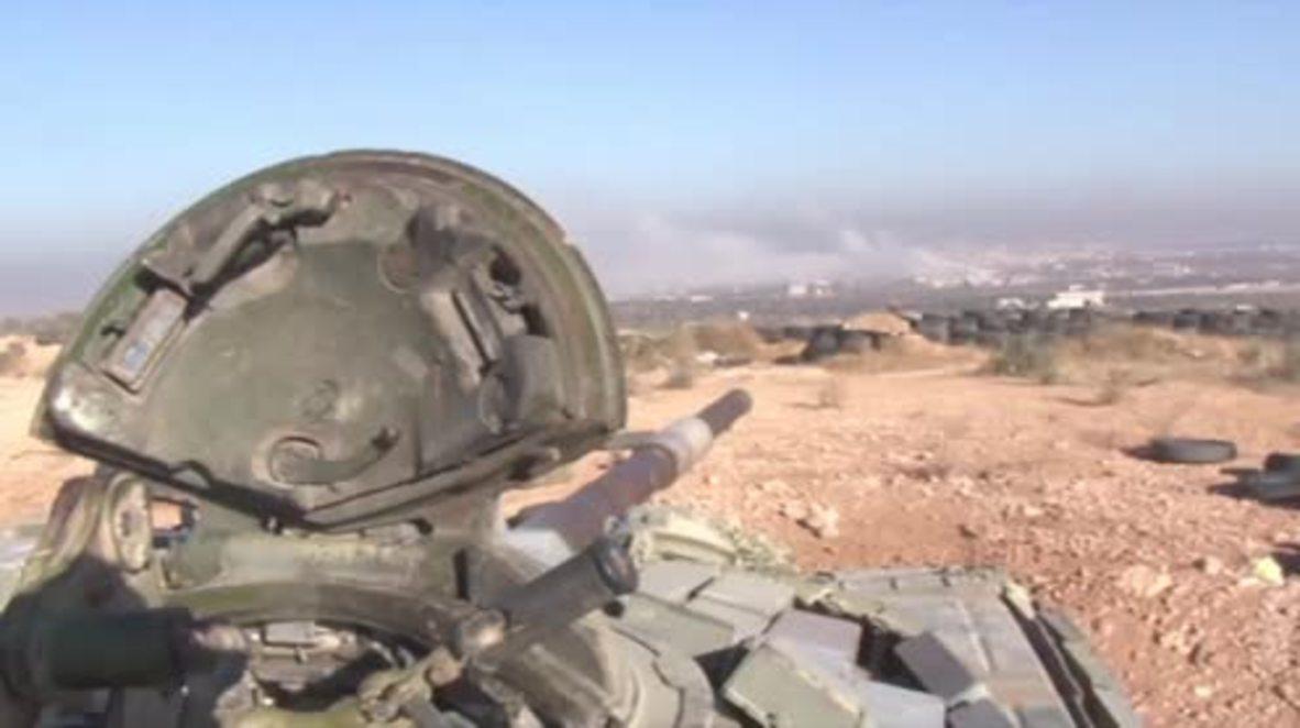 Syria: SAA assaults opposition-held Tariq Al-Bab in east Aleppo