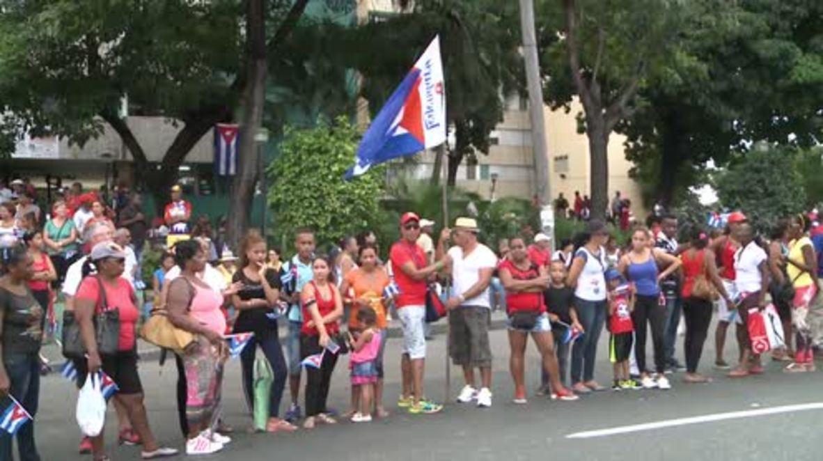 Cuba: Castro's ashes arrive at final destination in Santiago de Cuba