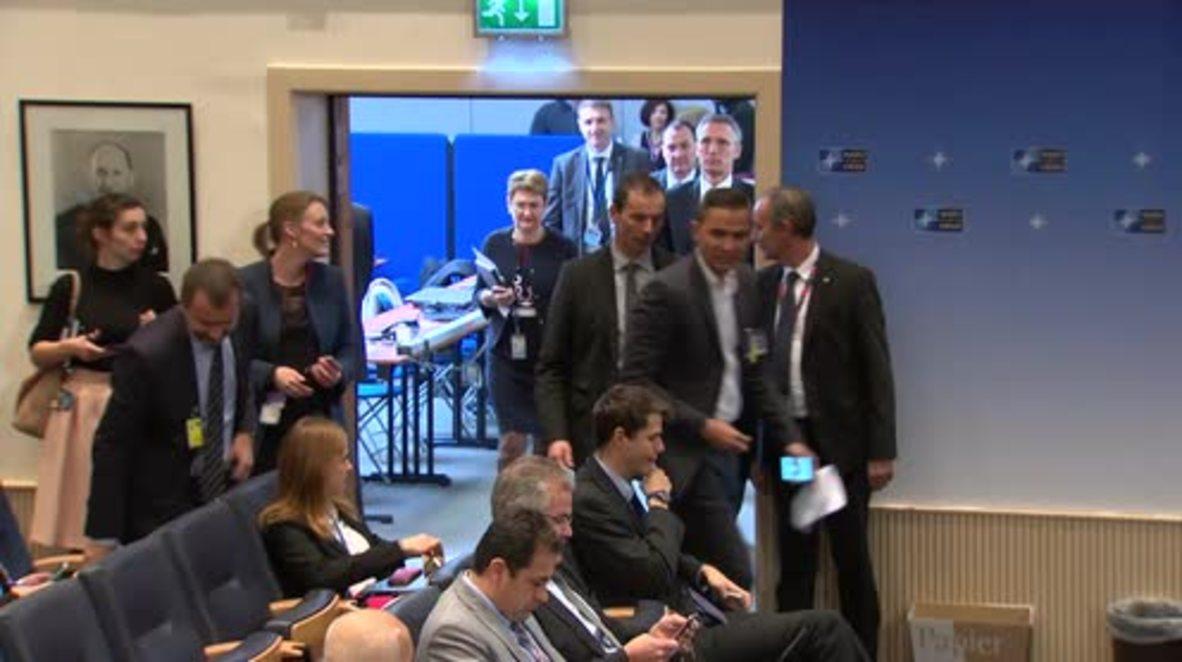 Belgium: NATO's Stoltenberg calls for continued economic sanctions against Russia
