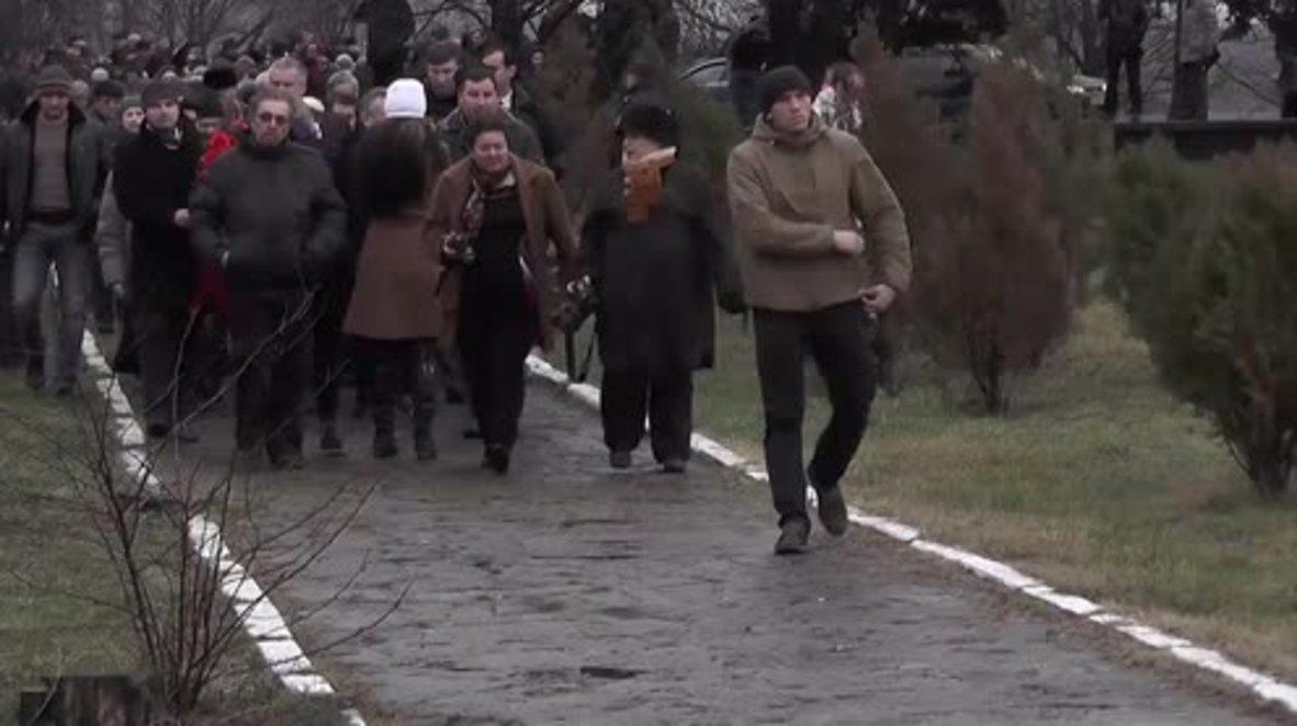 Russia: Chief military rabbi leads Holocaust memorial ceremony in Simferopol