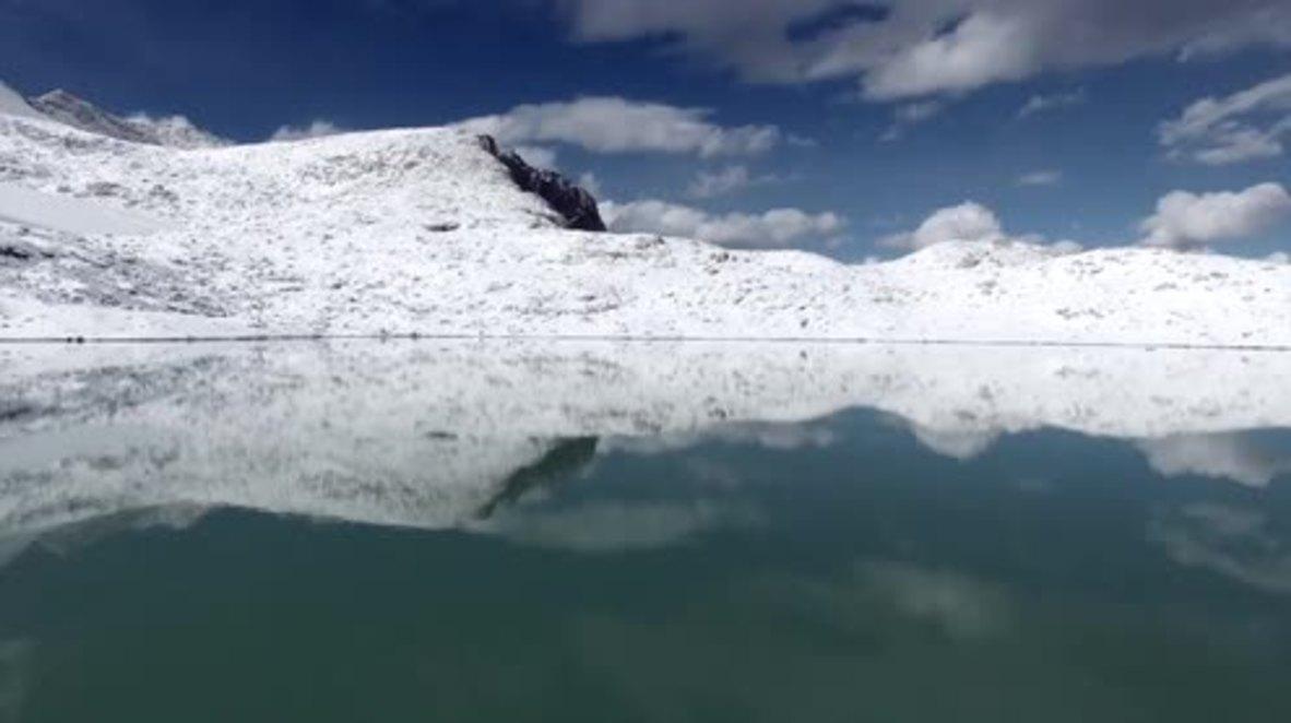 China: World's highest cafe offers unique views of Dagu Glacier National Park