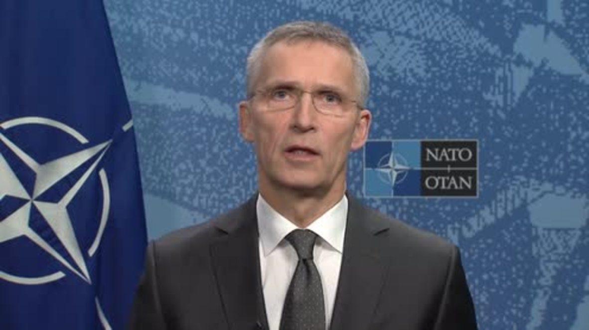 Belgium: NATO and Russia have 'profound disagreements' over Ukraine crisis - Stoltenberg