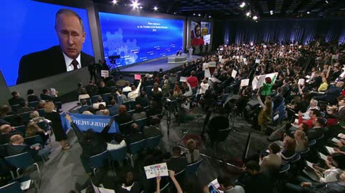 Russia: Putin outlines plan for Crimea's economic development and integration
