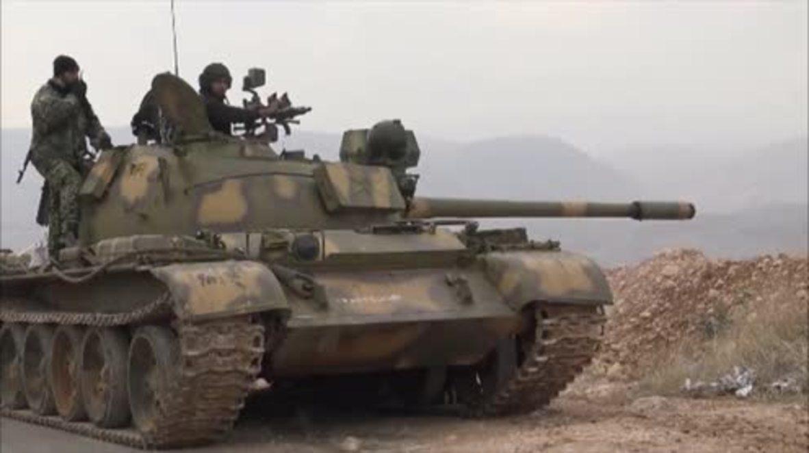 Syria: SAA starts fresh offensive in western Damascus