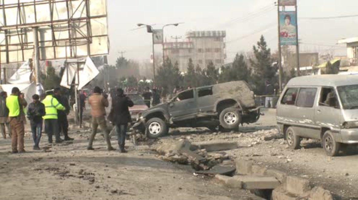 Afghanistan: Three injured by roadside bomb blast in Kabul