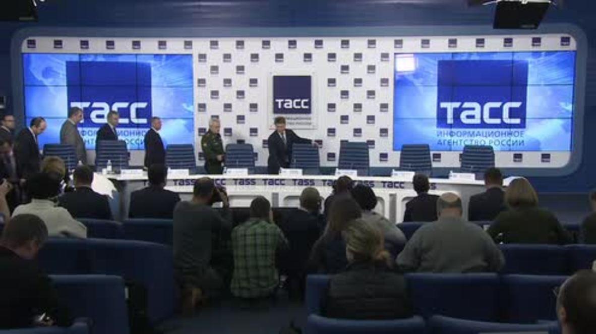 Russia: No explosion on board Tu-154 - MoD