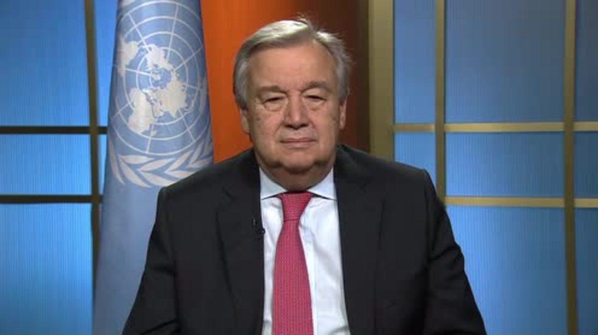 UN: New Secretary-General Guterres appeals for world peace