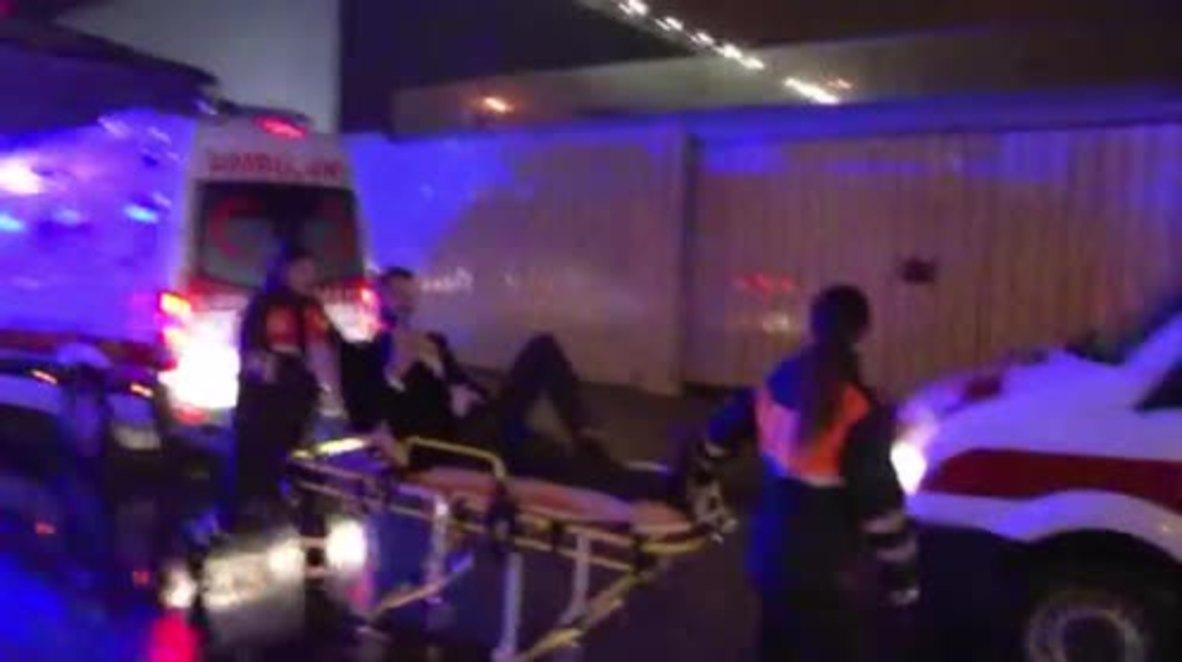 Turkey: Injured eyewitness saw one gunman in Istanbul club shooting