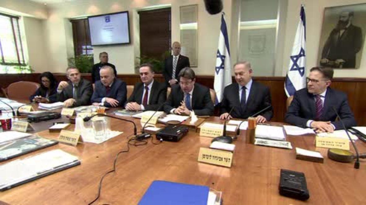 Israel: Netanyahu comments on  Reina Nightclub attack