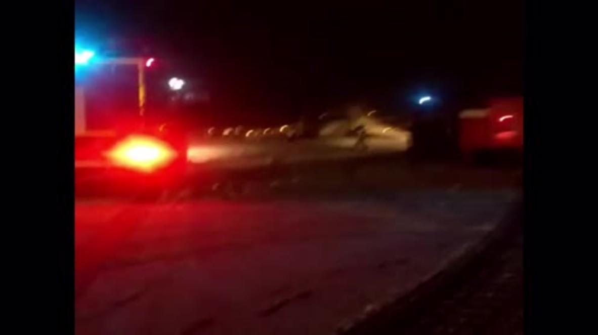 Russia: Airplane skids off runway in Kaliningrad