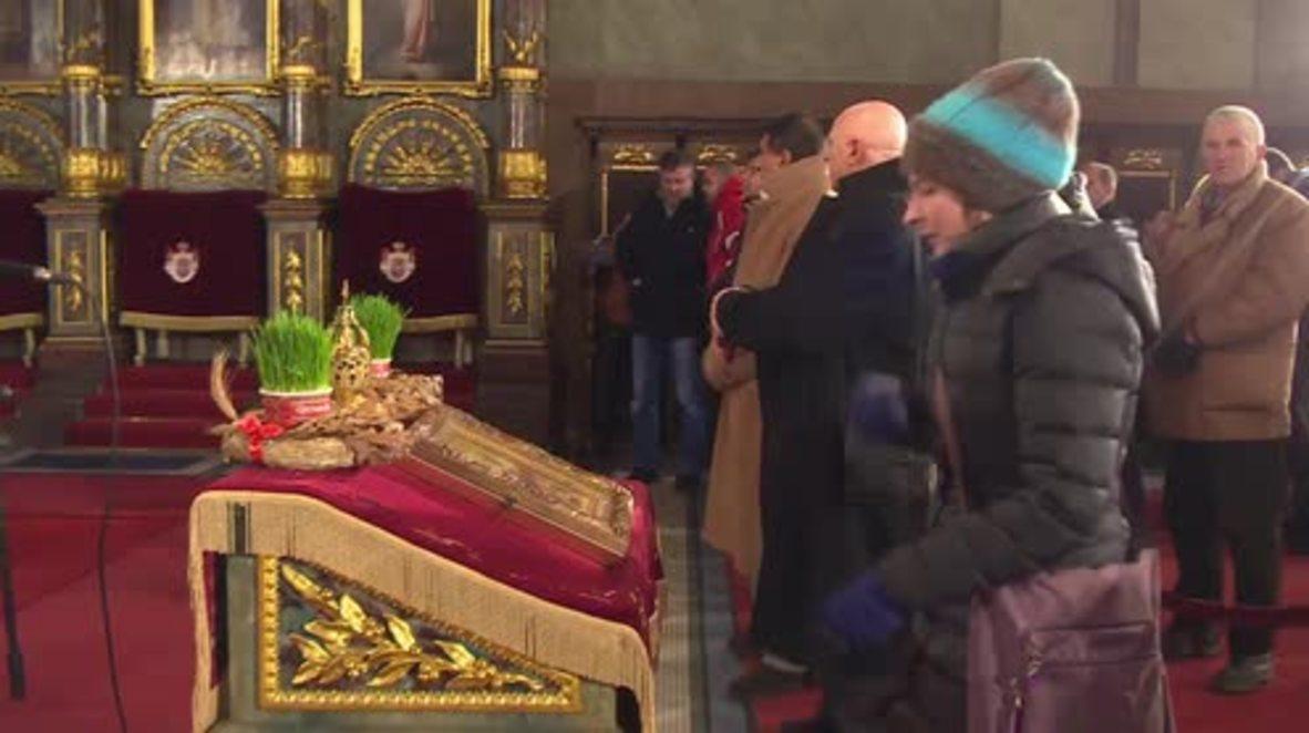 Serbia: Patriarch Irinej leads Christmas Day liturgy in Belgrade