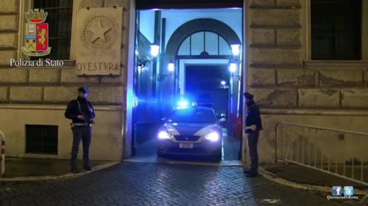 Italy: Police arrest suspect in anti-terror raids