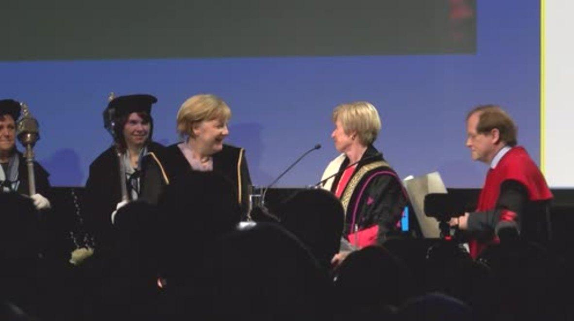 Belgium: EU must take on more global responsibility - Merkel
