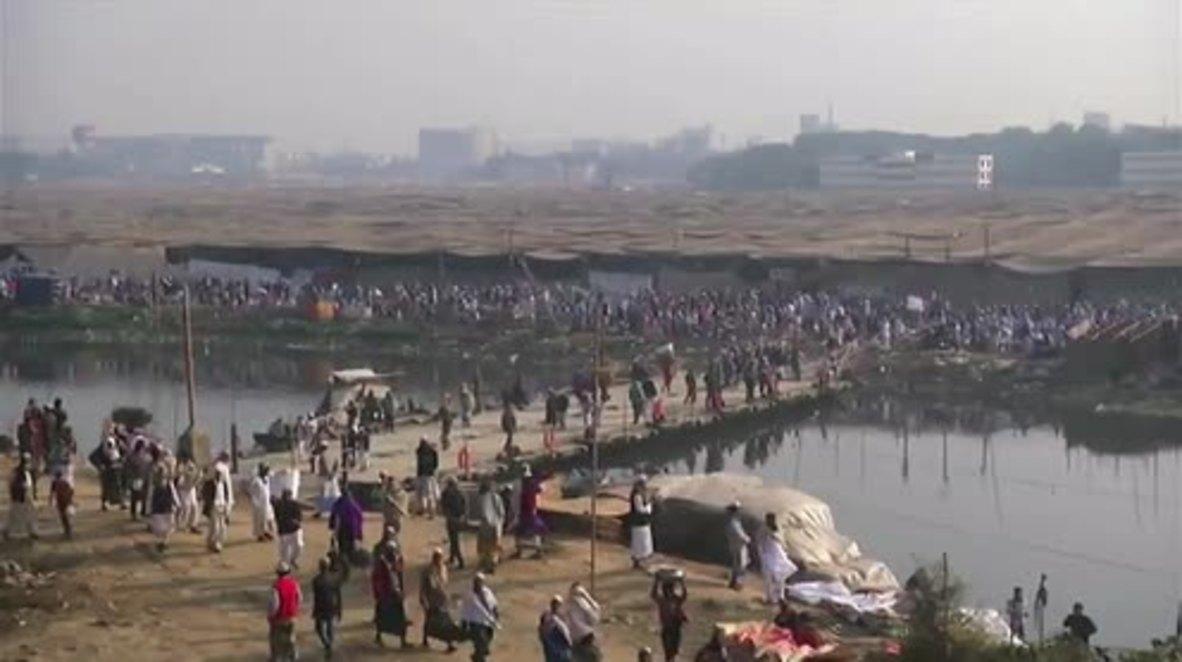 Bangladesh: Millions attend Muslims Bishwa Ijtema festival at Tongi