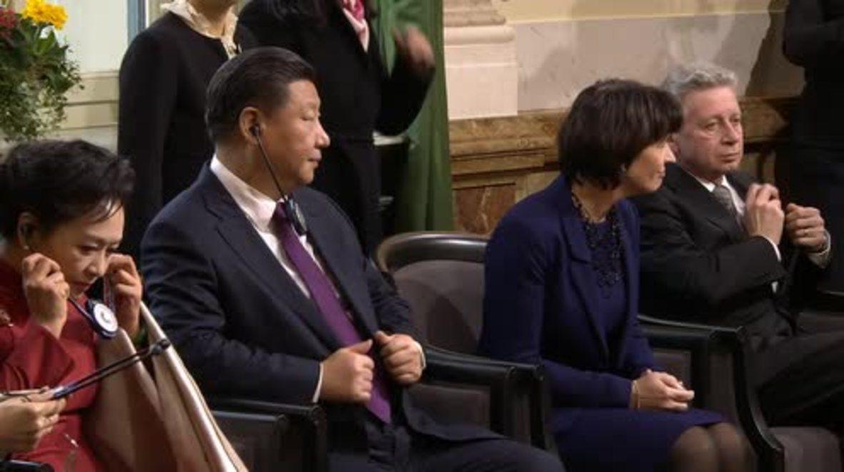 Switzerland: Xi Jinping in Bern for bilateral talks ahead of Davos WEF