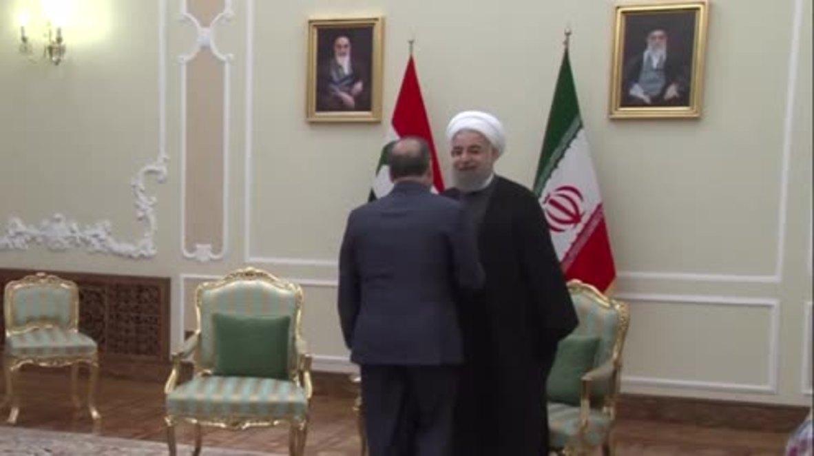 Iran: Syrian PM Khamis meets Rouhani in Tehran ahead of Astana peace talks