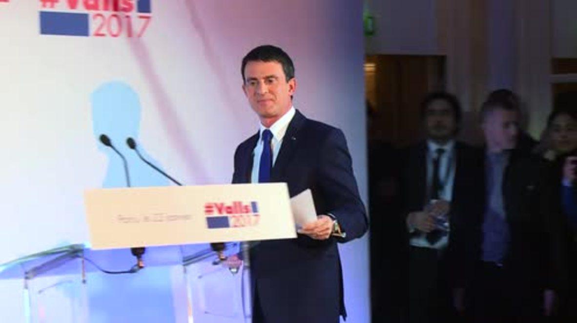 France: Benoit Hamon beats Manuel Valls to top Socialist presidential primary