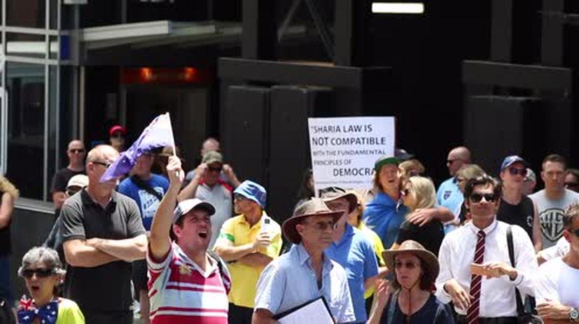 Australia: Anti-Muslim rally 'Reclaim Australia against Terrorism' hits Sydney