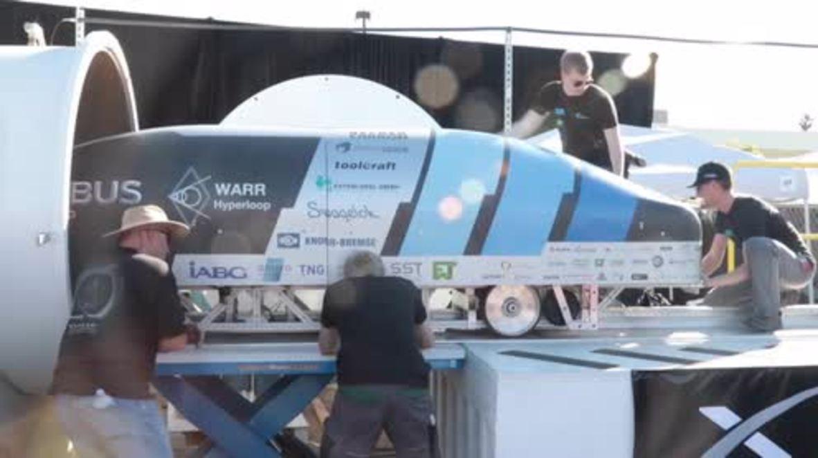 USA: Dutch team wins Elon Musk's SpaceX Hyperloop competition