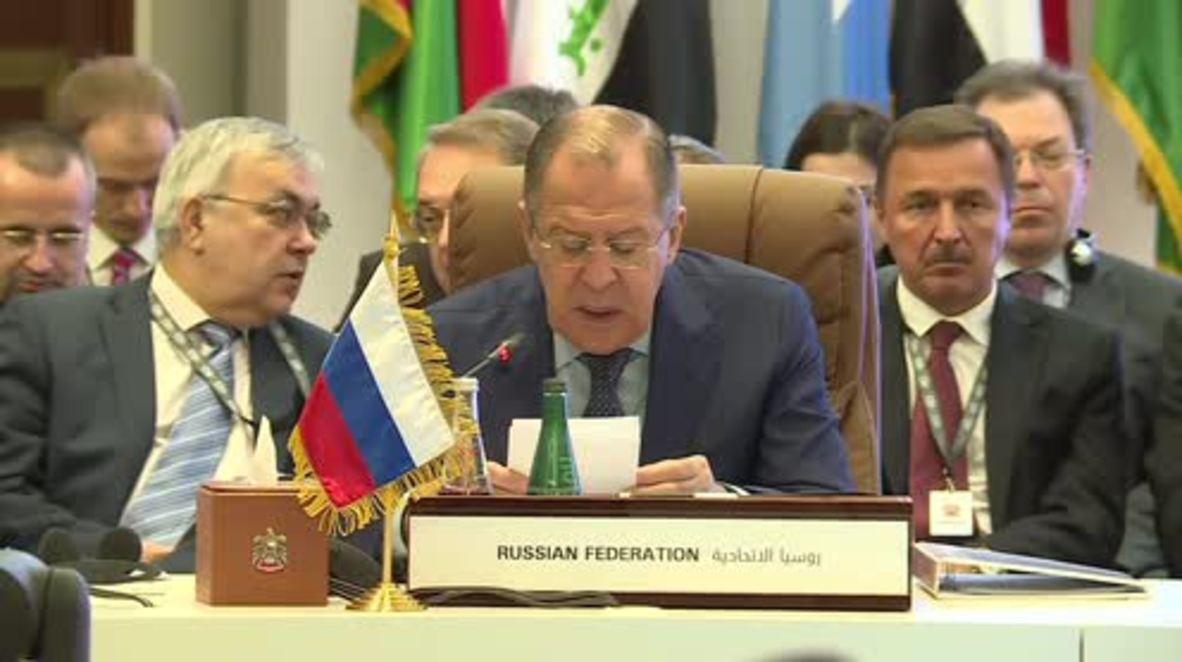 UAE: Lavrov calls for meeting between al-Sarraj and Haftar to stabilise Libya