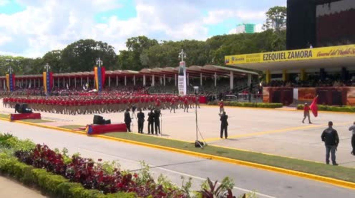Venezuela: Revolutionary hero Ezequiel Zamora honoured with Caracas military parade