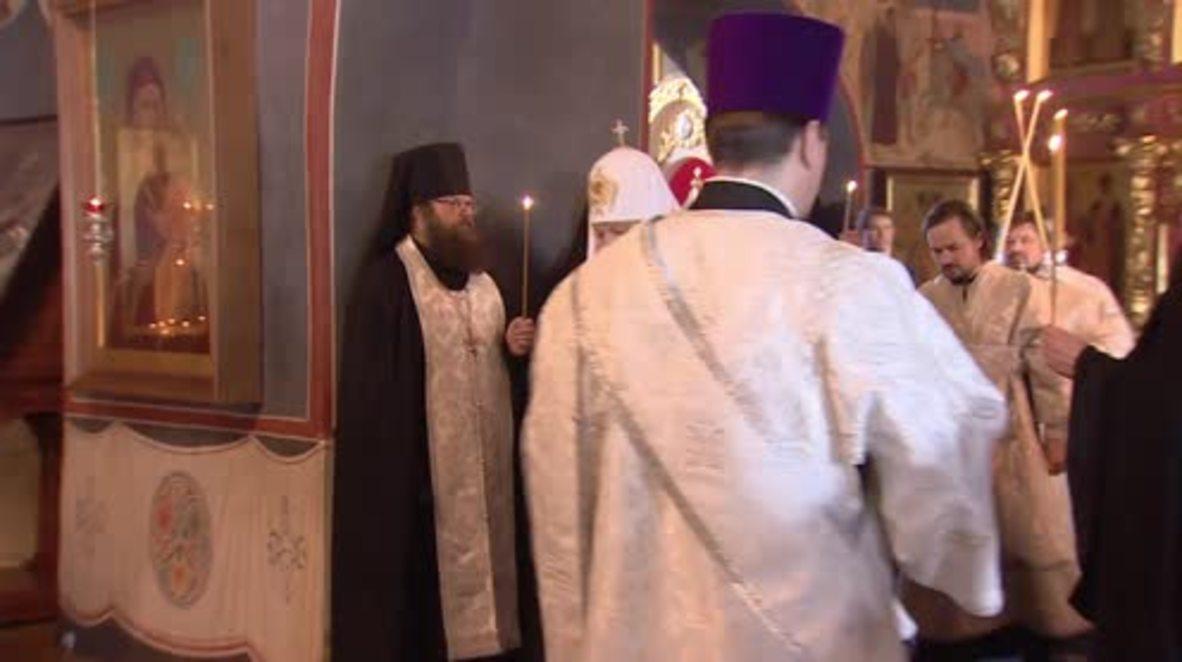 Russia: Patriarch Kirill commemorates Tu-154 plane victims 40 days after crash