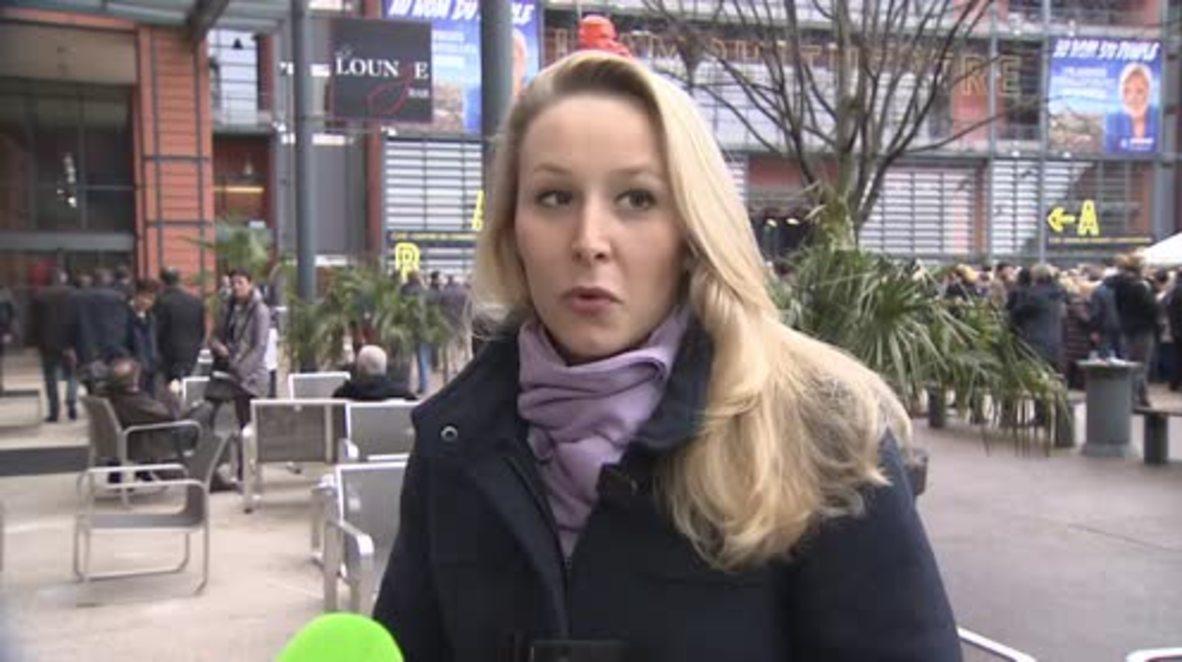 France: Emmanuel Macron's image based on 'total emptiness' - Marion Le Pen *EXCLUSIVE* *PARTNER CONTENT*
