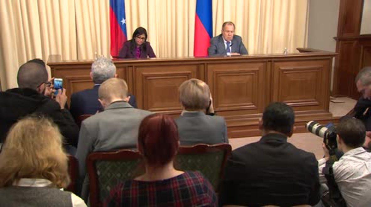 Russia: Iran is fighting against terrorism – Lavrov
