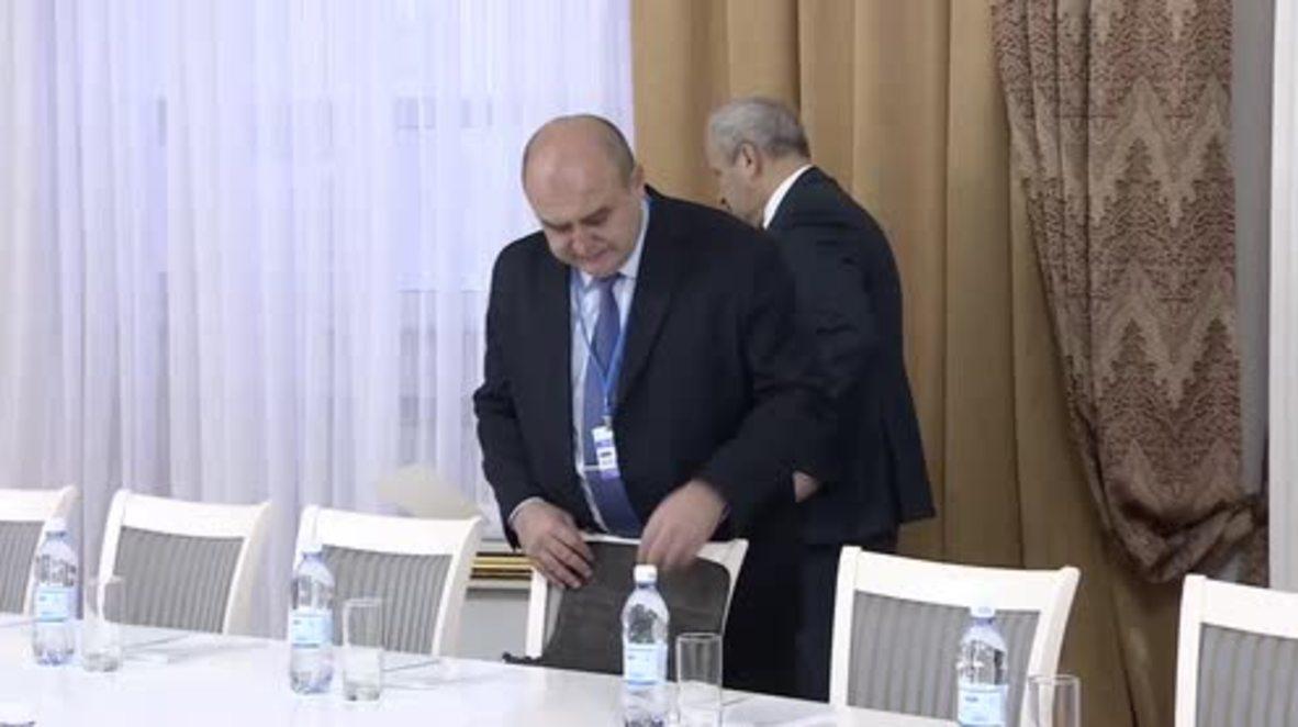 Kazakhstan: Russia, Iran and Turkey hold Syrian ceasefire talks in Astana