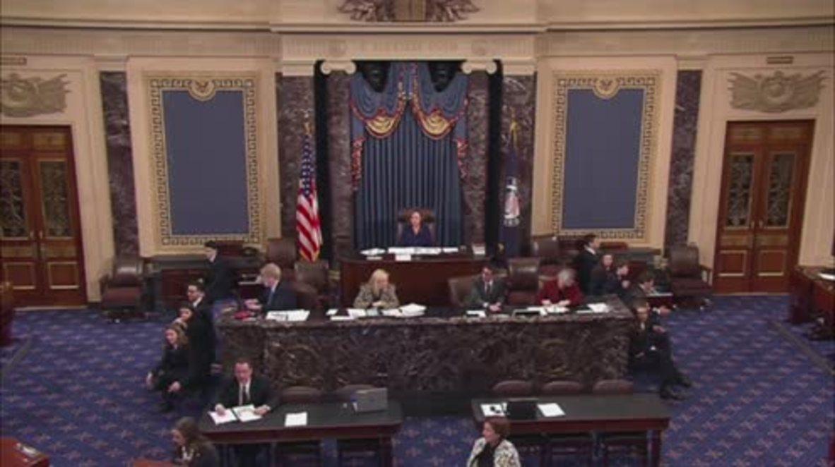USA: Democrats plan all night protest in bid to block DeVos' nomination