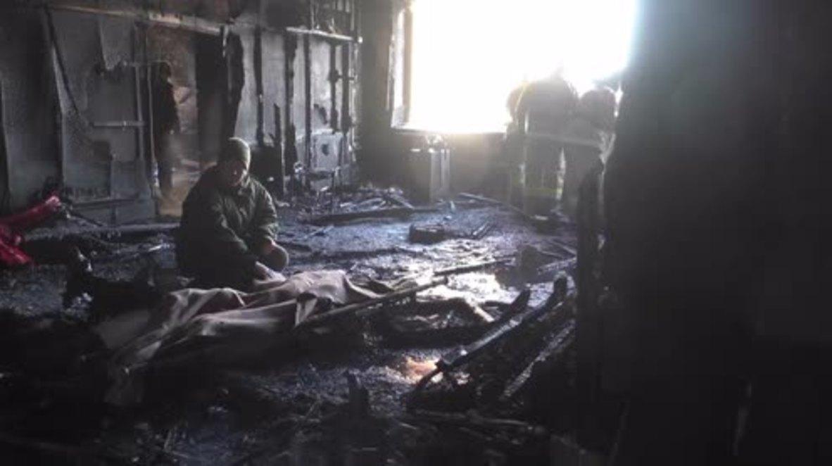 Ukraine: Body of DPR fighter Mikhail 'Givi' Tolstykh recovered from blast