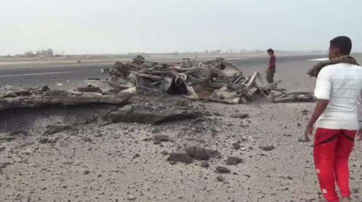 Yemen: Saudi-led coalition helicopter strike hits Yemeni troops in Aden - reports