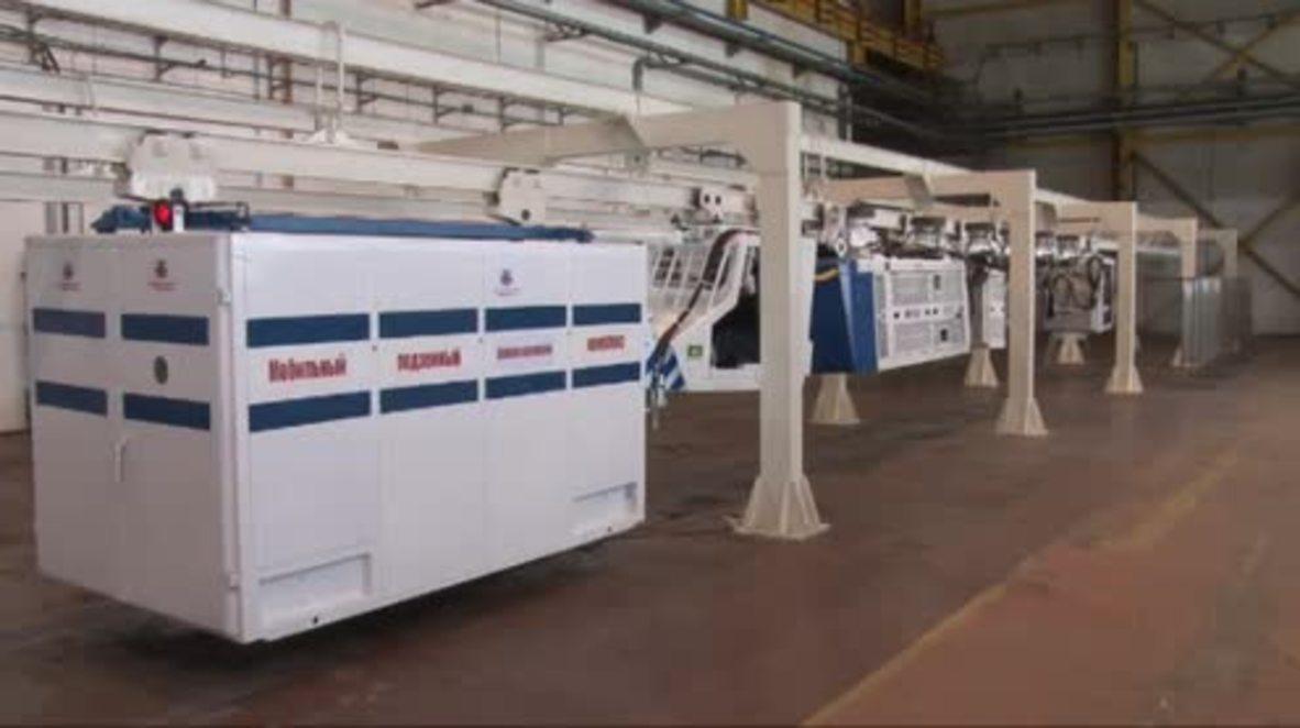 Russia: Designed for mines – mobile intensive care unit showcased in Kemerovo