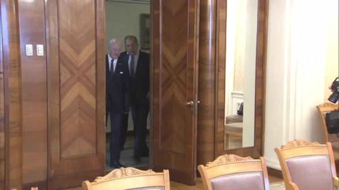 Russia: Geneva peace talks on Syria will resume on February 23 - Lavrov