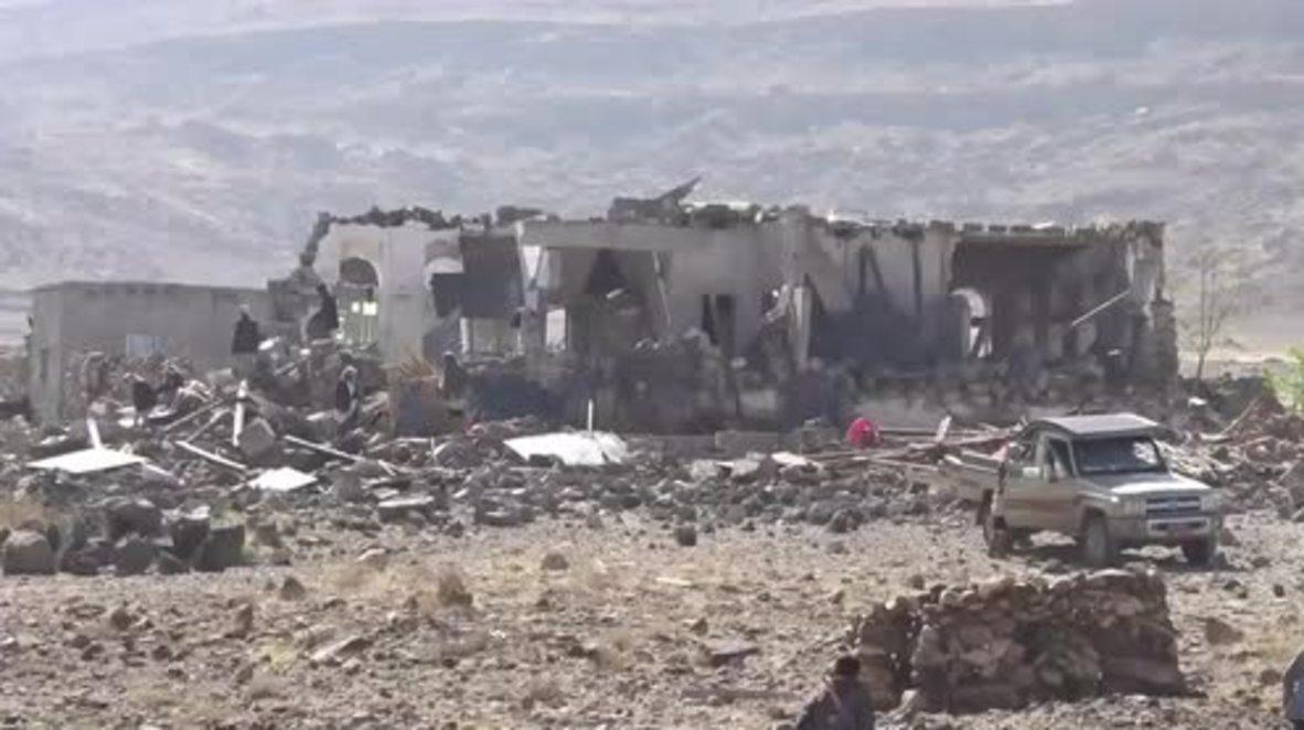 Yemen: 9 dead after Saudi-led coalition airstrike on funeral near Sanaa