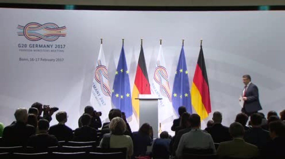 Germany: Astana-based Syria negotiations 'have to flow into Geneva talks' - Gabriel