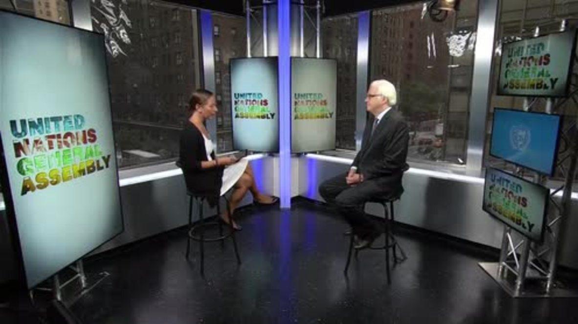 USA: Russia's Vitali Churkin passes away in NYC *ARCHIVE*