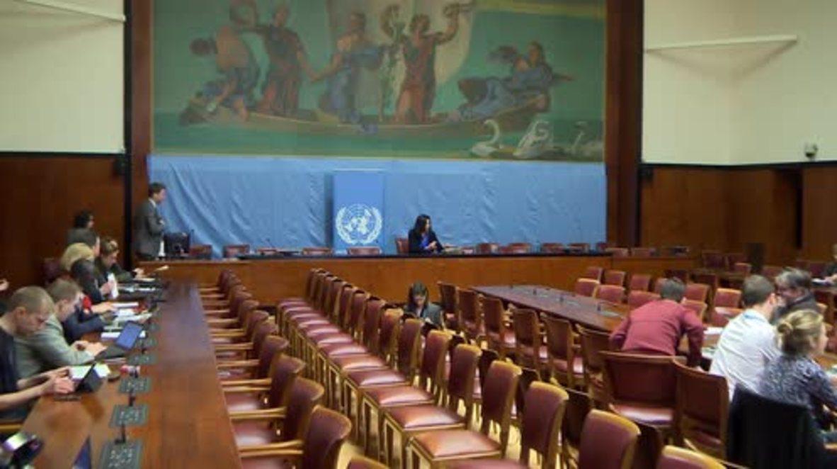 Switzerland: De Mistura's team outlines details of upcoming intra-Syrian talks