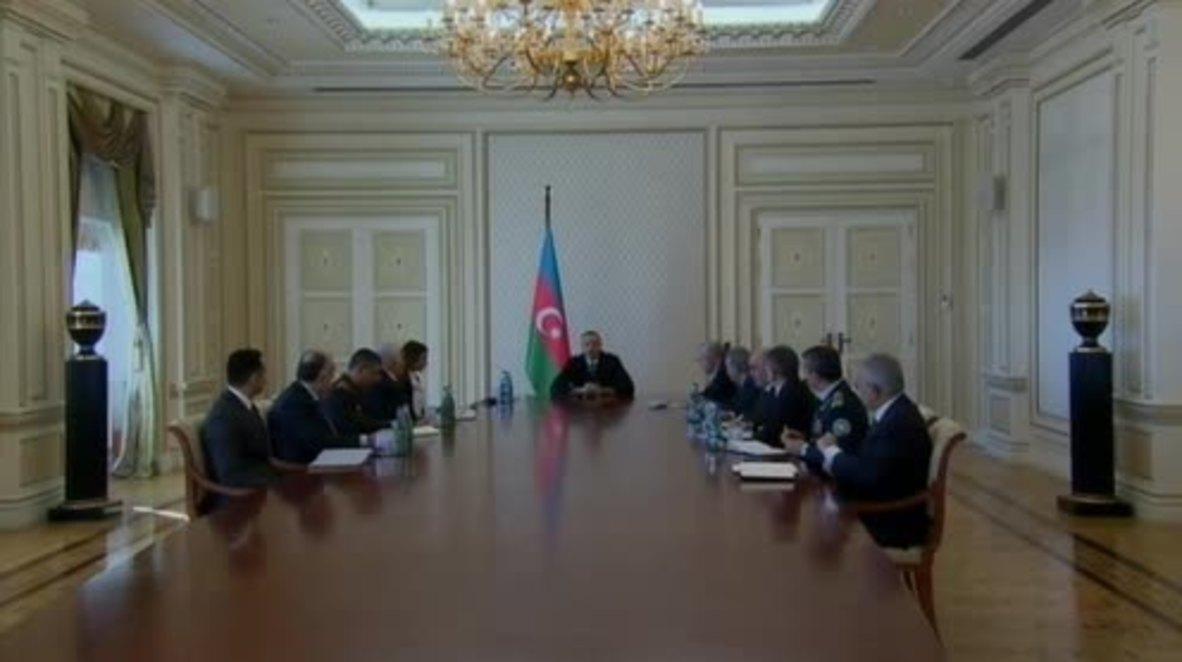 Azerbaijan: President Aliyev names his wife as first vice president