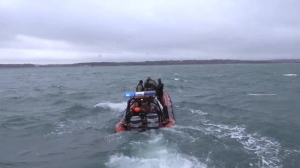 UK: WW2 bomb detonated in Portsmouth harbour